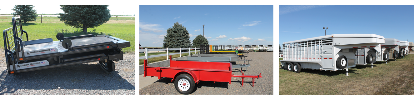 Ogallala Ag flatbeds, trailers, and attachments.
