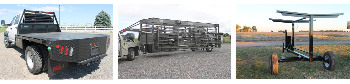 Ogallala Ag posts, pannels, and ag equipment